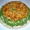 салат из опят маринованных рецепт