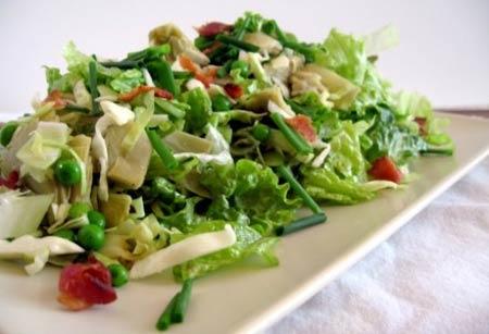салат с артишоком рецепт