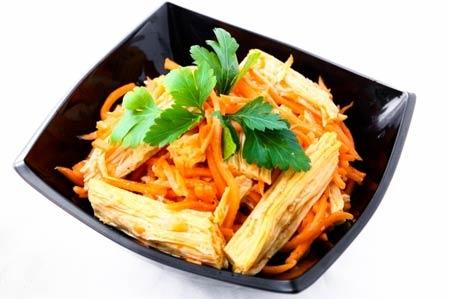 Салат из соевой спаржи - Кулинария для мужчин
