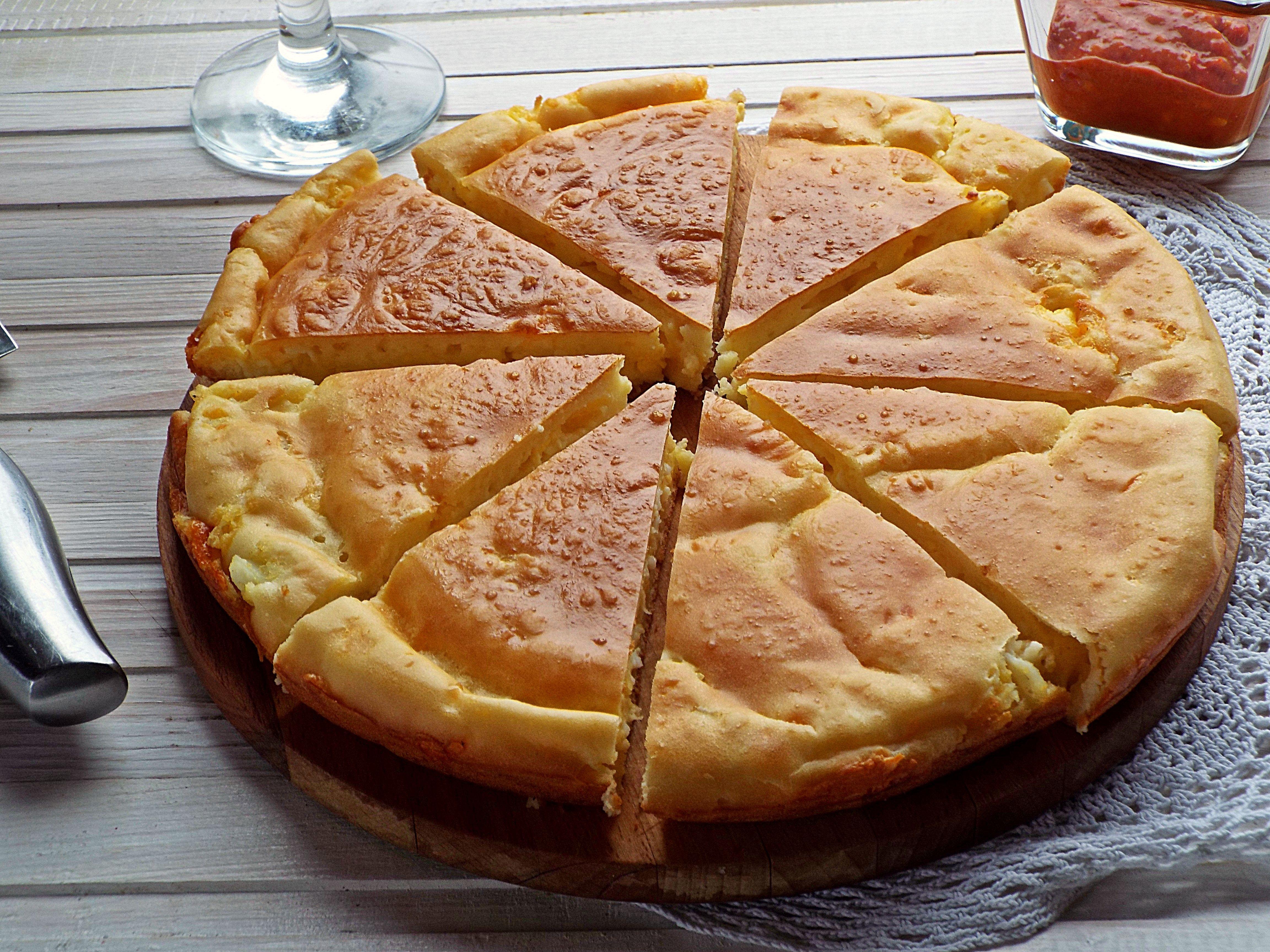 Как сделать пирог из жидкого 710