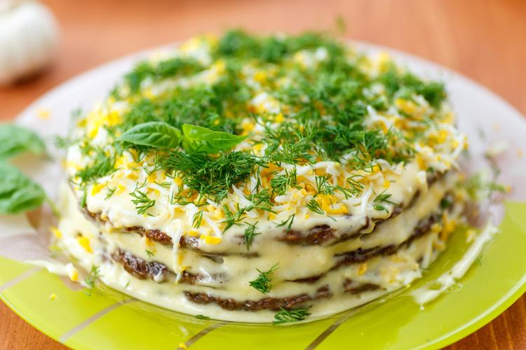 Печеночный пирог из печени - 7 рецептов
