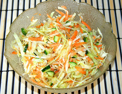 Салатики на скорую руку рецепты