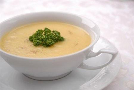 Фото из рецепта Крем-суп с сыром «Виола»