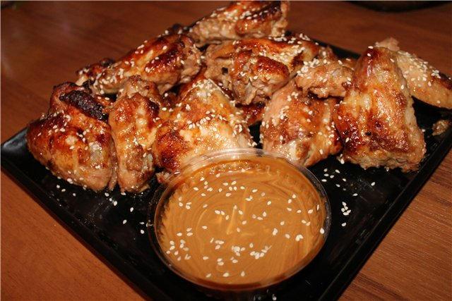 Курица в духовке с соевым соусом и медом рецепт с пошагово