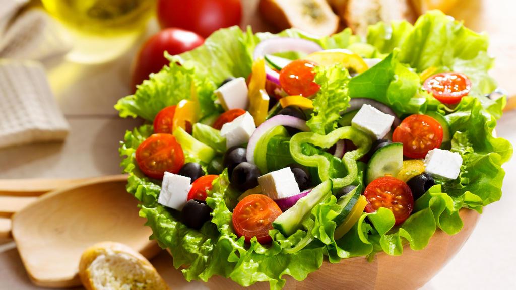 Фотографии салатов в большом формате