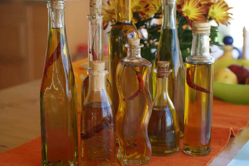 Масло оливковое с травами