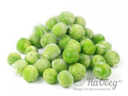 Зеленый горошек замороженный