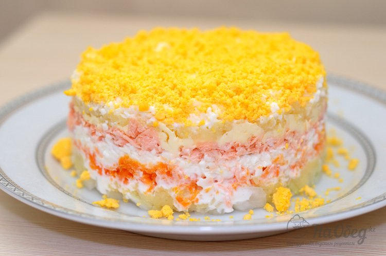 Мимоза салат с фото