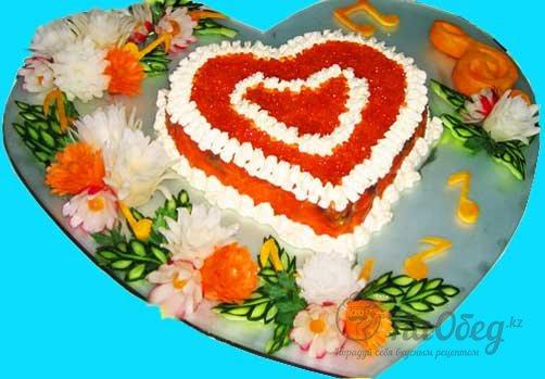 Салат мое сердце рецепт