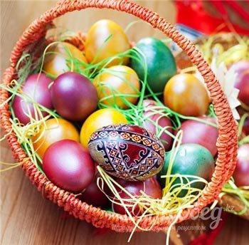 варианты раскраски пасхальных яиц