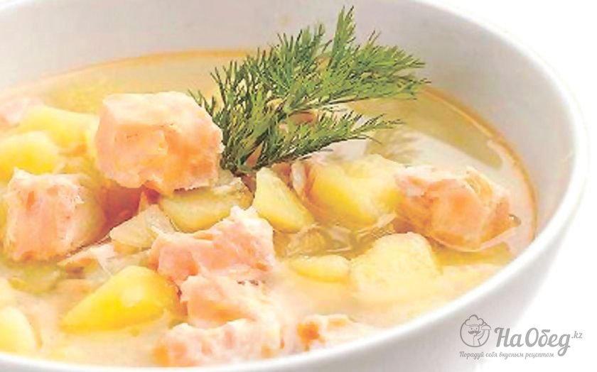 Финский суп из форели
