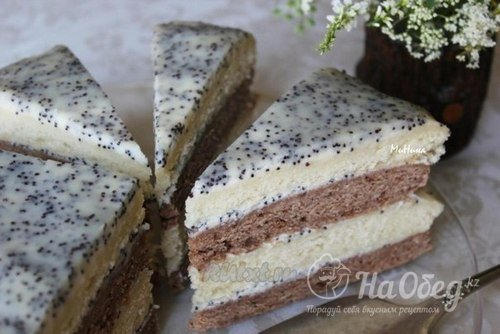 Торт сметанным кремом фото рецепт